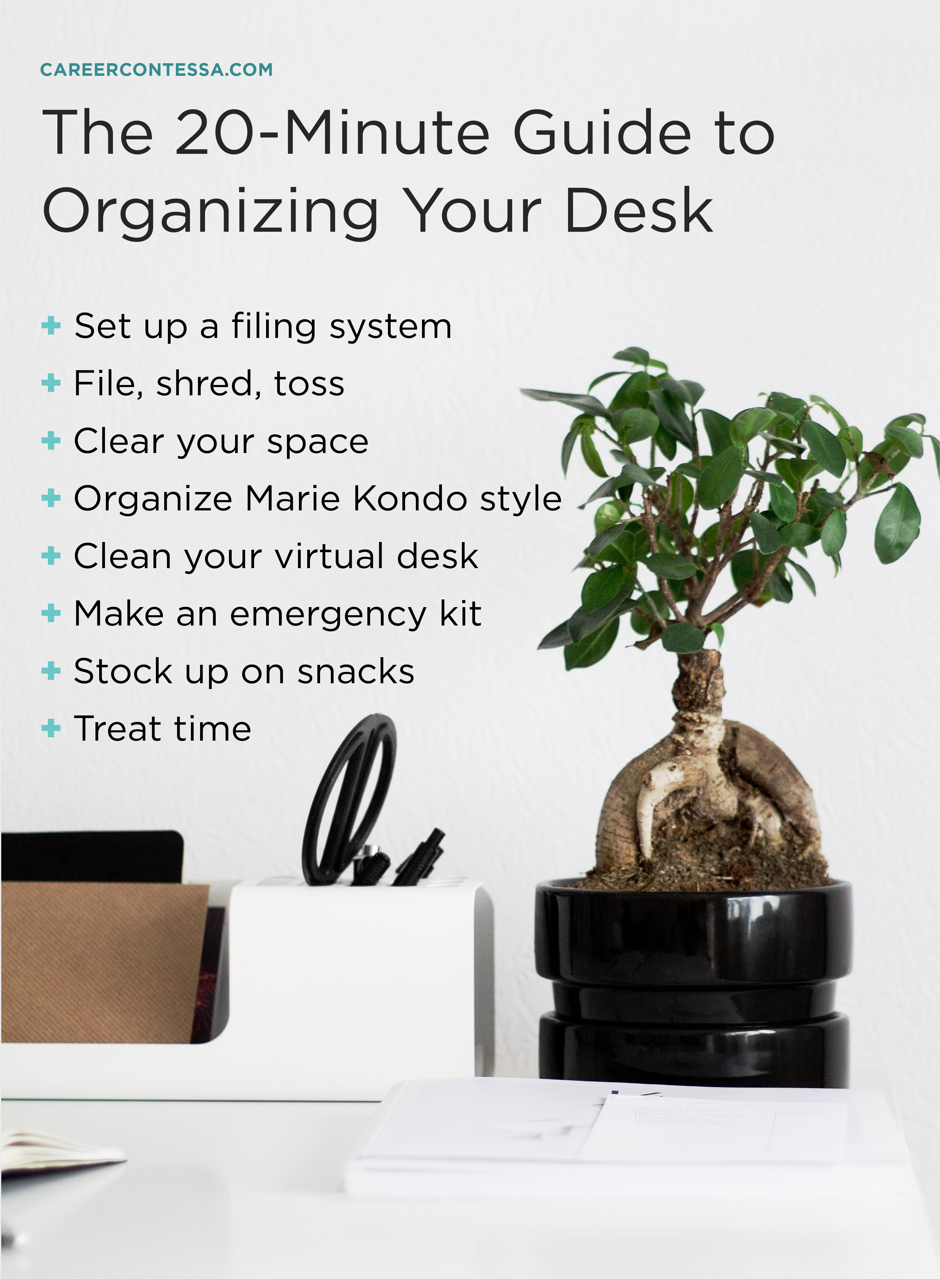 essay increase productivity how to organize your desk with how to  the minute guide to organizing your desk career contessa organize marie  kondo style essay on healthy