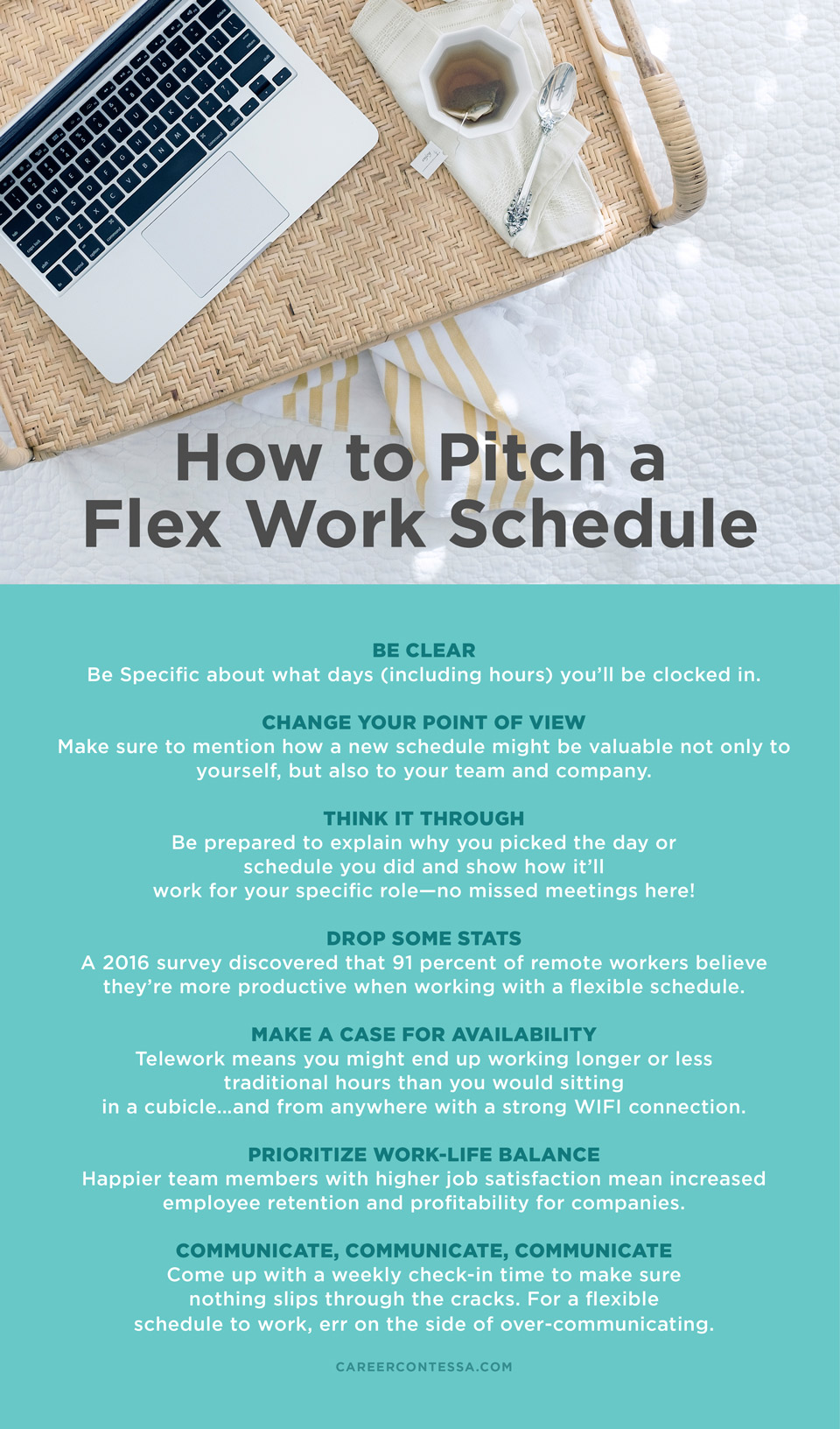 how a flexible work schedule will benefit you and your boss career