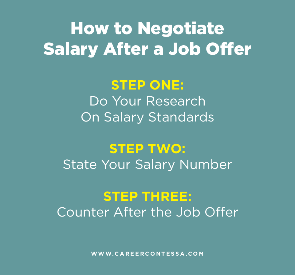 Letter To Negotiate Salary After Job Offer from careercontessa.com