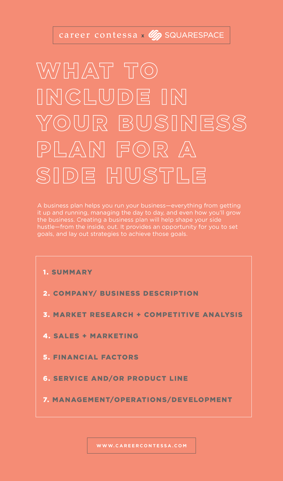 What to Include in Your Business Plan For a Side Hustle