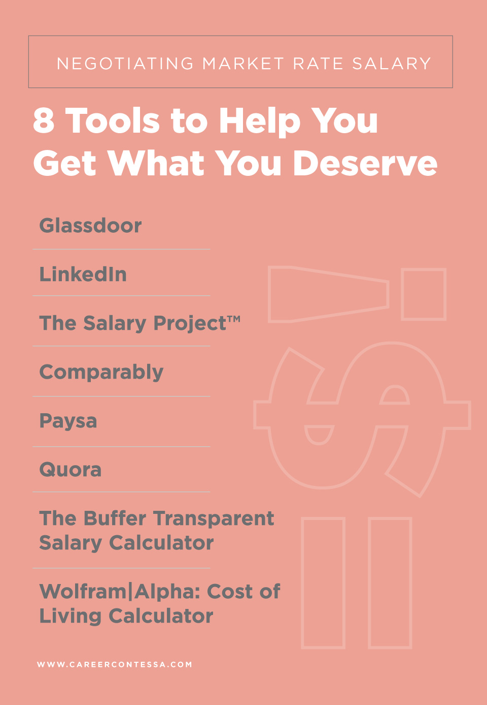 Negotiating Market Rate Salary: 8 Tools to Help You Get What