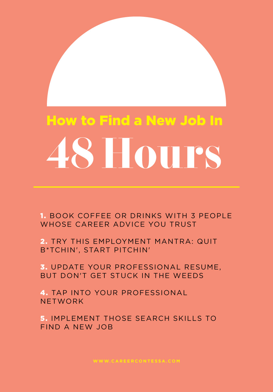 5 Hacks to Find a New Job In 48 Hours | Career Contessa
