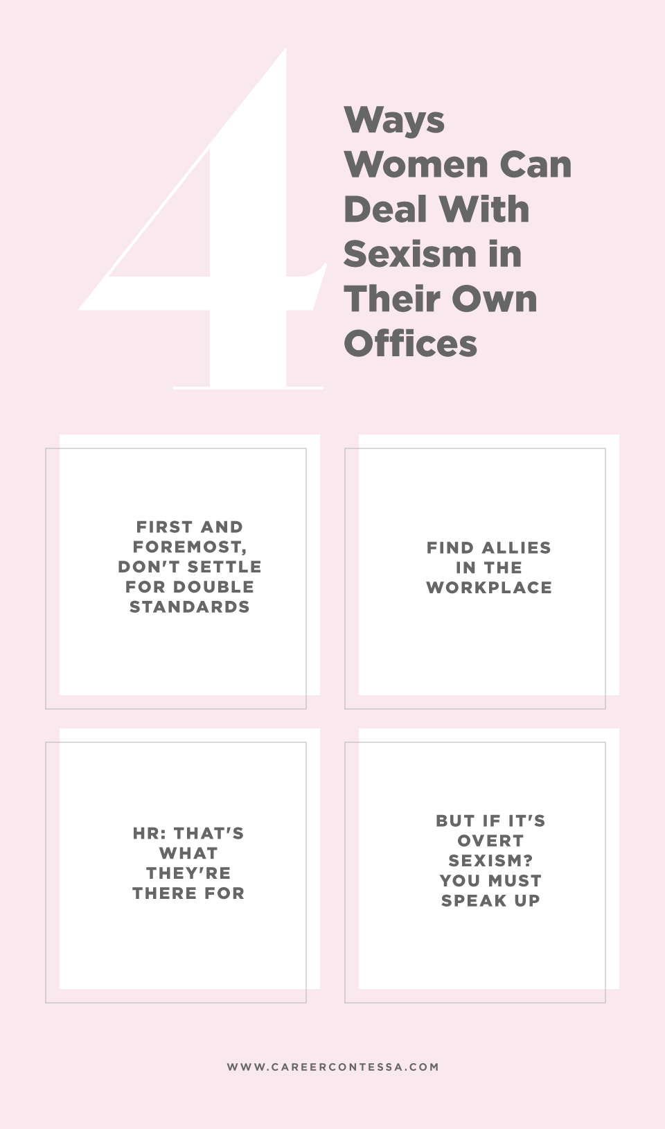 How to Deal With Sexism in the Workplace | Career Contessa
