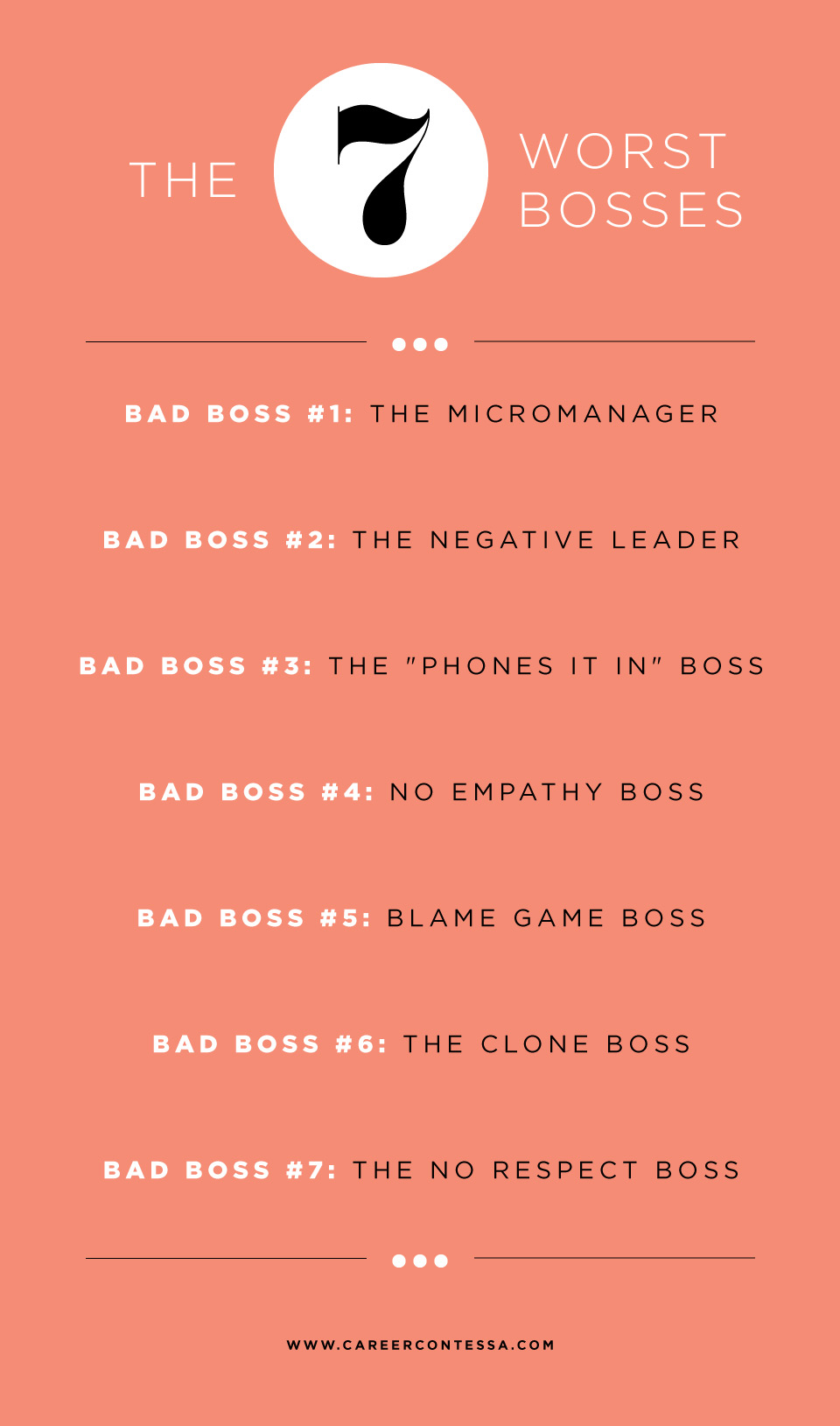 I Hate My Boss—The 7 Worst Bosses (+ How to Approach Them ...
