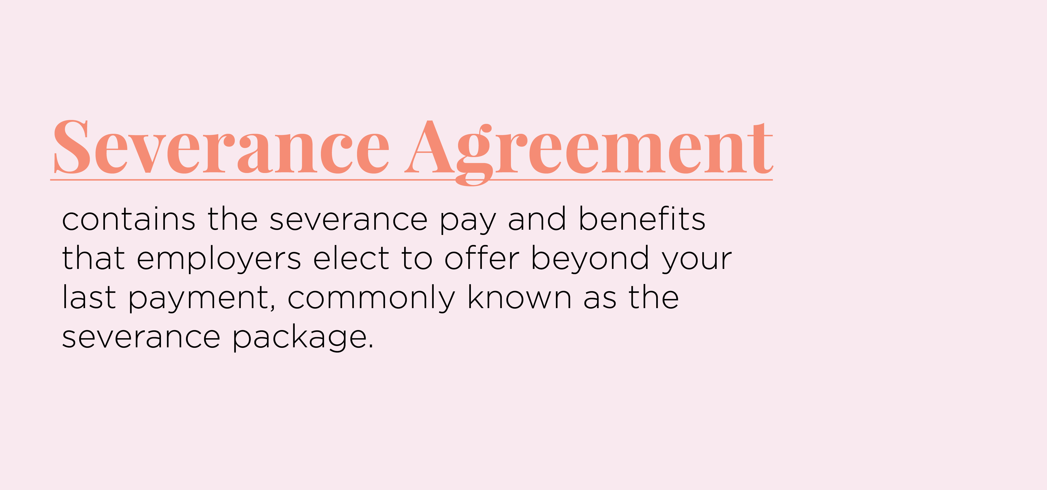 What Is A Severance Package And What Should Yours Be