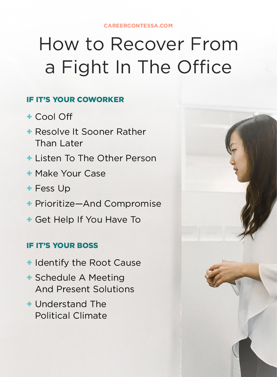 Im Not Arguing Battle Over My Office >> How To Recover From A Fight With Your Coworker Career Contessa