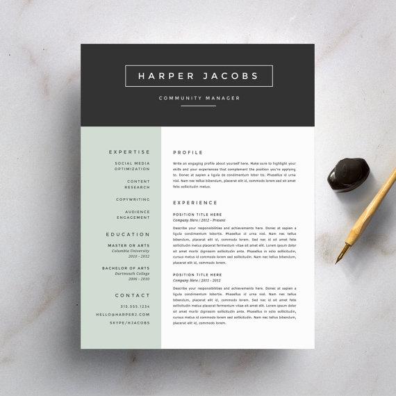 Here Are Five Common Pieces Of Resume Design Advice That You Shouldnu0027t  Heed. After All, We Can All Agree That Certain Professional Rules Are Made  To Be ...  Font On Resume
