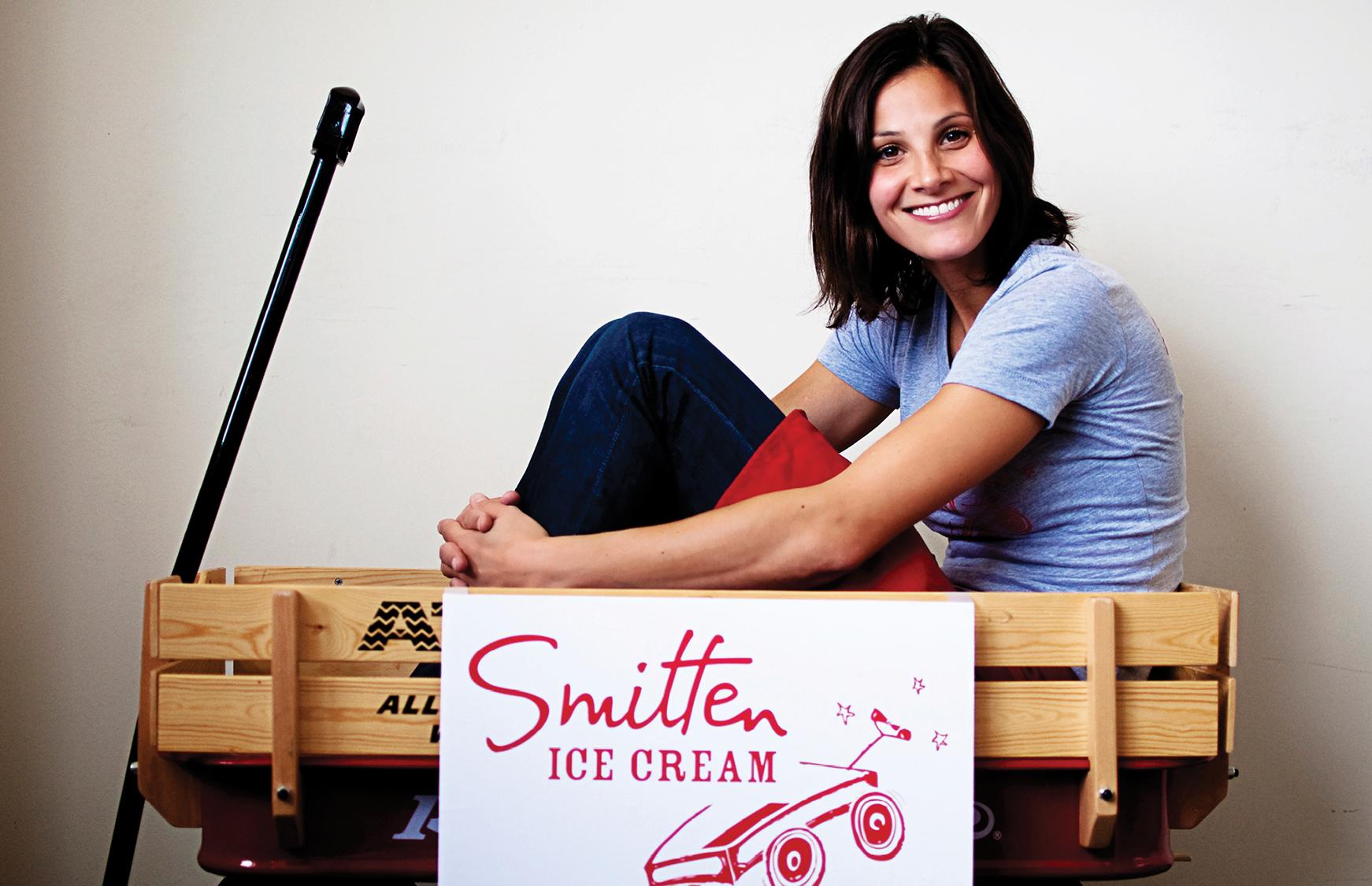 Smitten Ice Cream an interview with the founder of smitten ice cream | career contessa