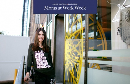 Moms At Work Melissa Schoffer Farber Soulcycle Career